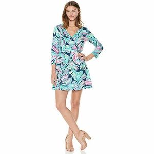 Lilly Pulitzer Long Sleeve Amina Dress - NWT Large